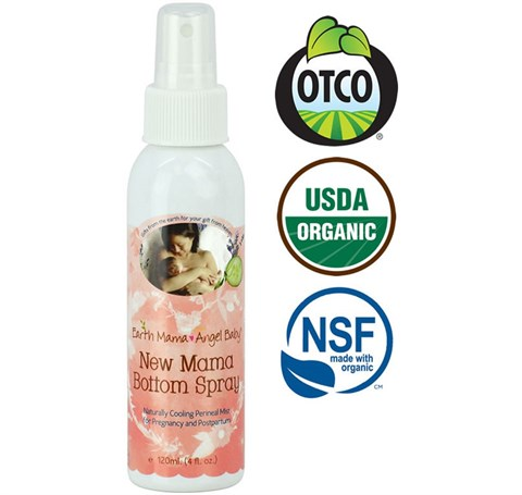 Earth Mama New Mama Bottom Spray - Organik Genital Bölge Spreyi