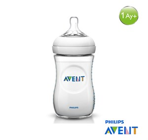 Philips Avent Natural PP Biberon 260ml Tekli