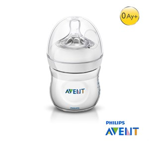 Philips Avent Natural PP Biberon 125ml Tekli