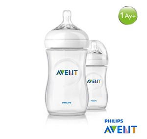 Philips Avent Natural PP Biberon 260ml İkili