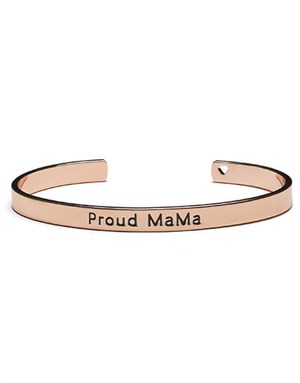 Proud MaMa Bangle Bracelet Rose